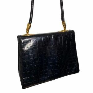 Women's Vintage Leather Francesco Biasia Bag